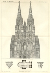 Architectural Illustration of Cologne Cathedral