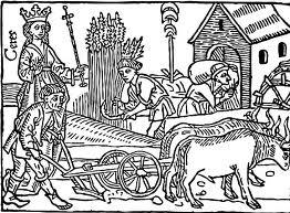 Medieval Peasant Field Working