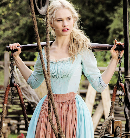 Cinderella Georgian dress