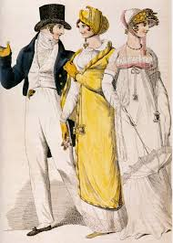 These examples of Georgian fashion are similar to Cinderella's wardrobe,