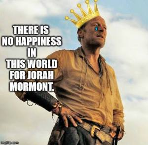 Sad Jorah Mormont