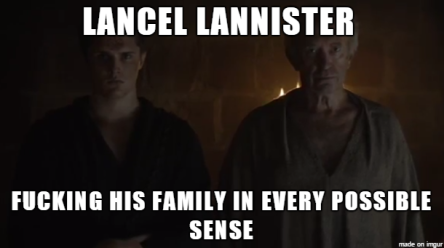 Lancel fucks over his family