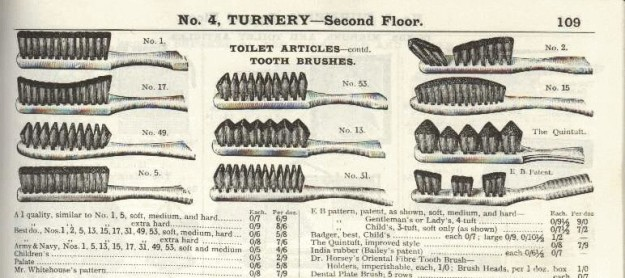 Victorian Toothbrush