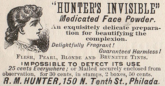 Victorian Face Powder