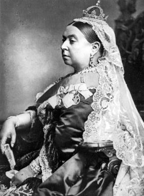 Old Queen Victoria