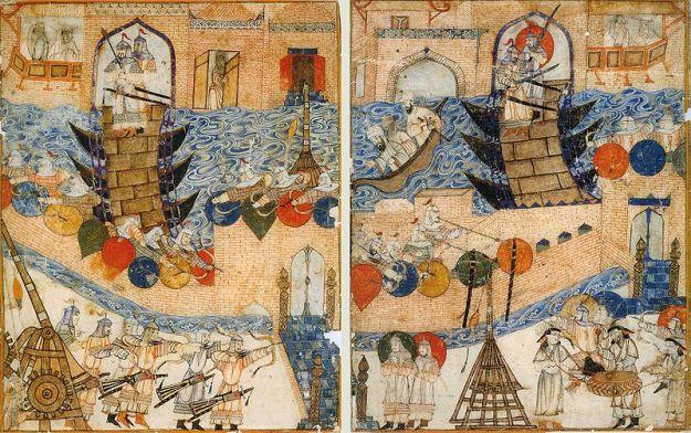Siege Baghdad 1258 mongols