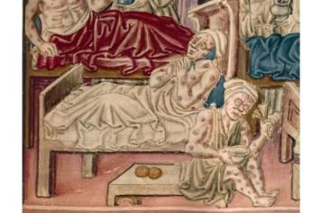 plague victims 'La Franceschina black death bubonic plague