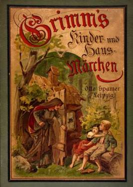 Grimm's Fairy Tales Book Cover