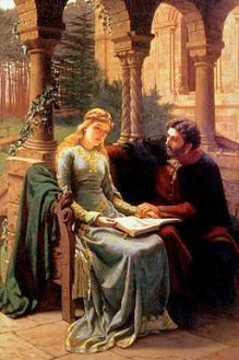 abelard and his pupil heloise by edmund blair leighton