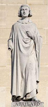 Statue of Abelard by Jules Cavelier 1853 Louvre